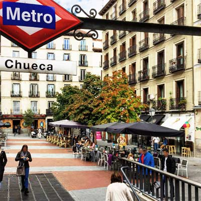 Barrio de Chueca Madrid