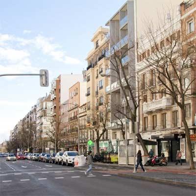 Barrio de Cuatro Caminos Madrid