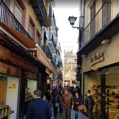 Calle Córdoba Sevilla