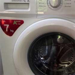 Lavadora con consumo eficiente