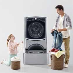 Capacidad de carga de nuestra nueva lavadora