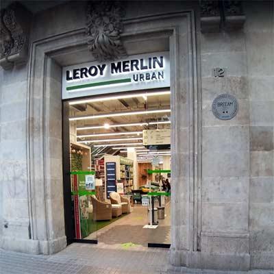 Tienda Leroy Merlin Urban Barcelona
