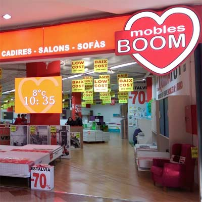 Tienda Muebles Boom Badalona