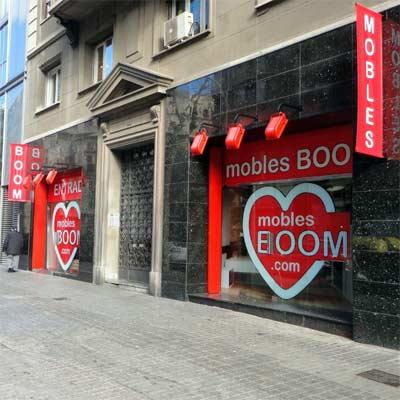 Tienda Muebles Boom Barcelona