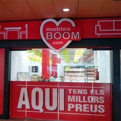 Tienda Muebles Boom Reus