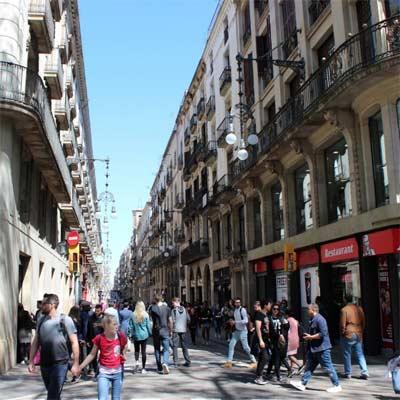 Rambla de Catalunya Barcelona