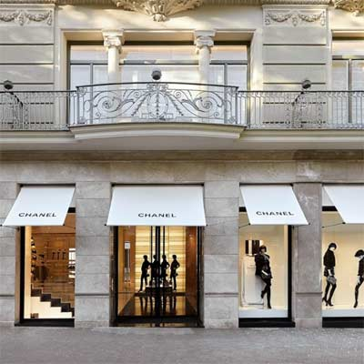 Tienda Chanel Barcelona