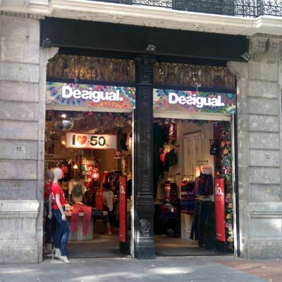 Tienda Desigual Bilbao