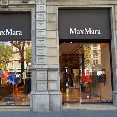 Tienda Max Mara Barcelona