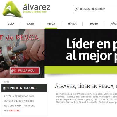 Tienda Online de Pesca Álvarez