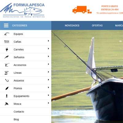 Tienda Online de Pesca Formulapesca