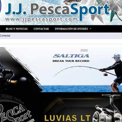Tienda Online de Pesca J.J. Pesca Sport
