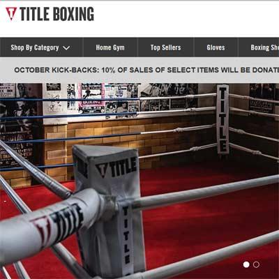 Tienda Online de Deportes Title Boxing
