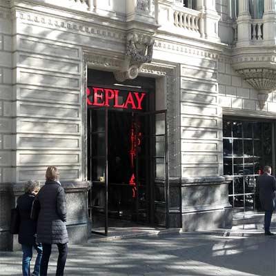 Tienda Replay Barcelona