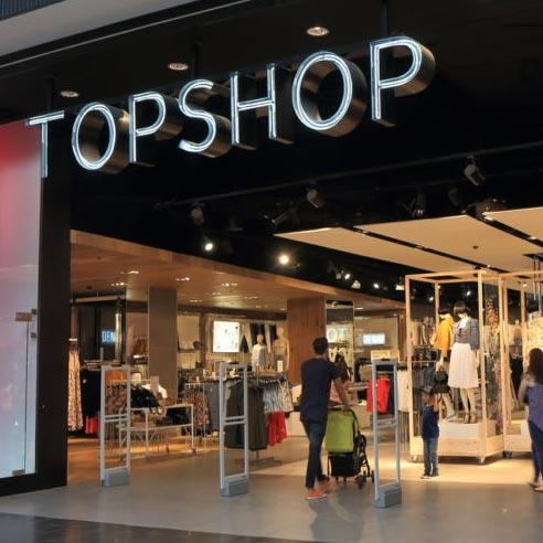 Tiendas Topshop
